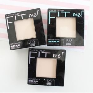 NEW MAYBELLINE FIT ME POWDER FOUNDATION